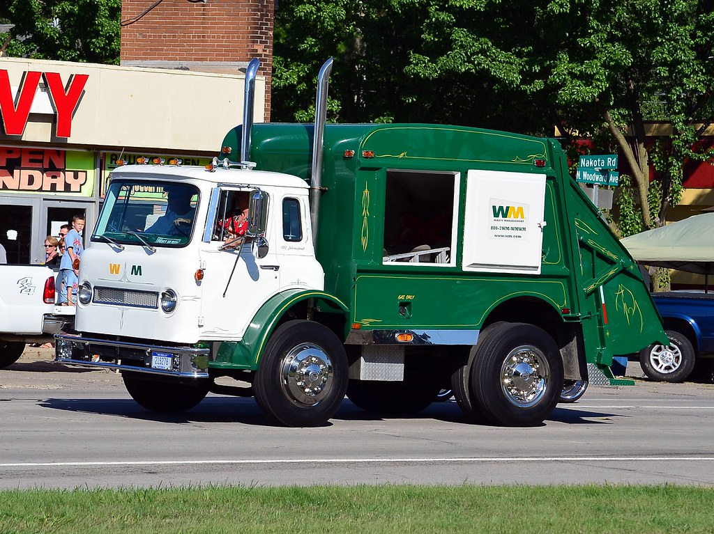 Hot Rod Dump Truck Waste Management Hot Rod Dump