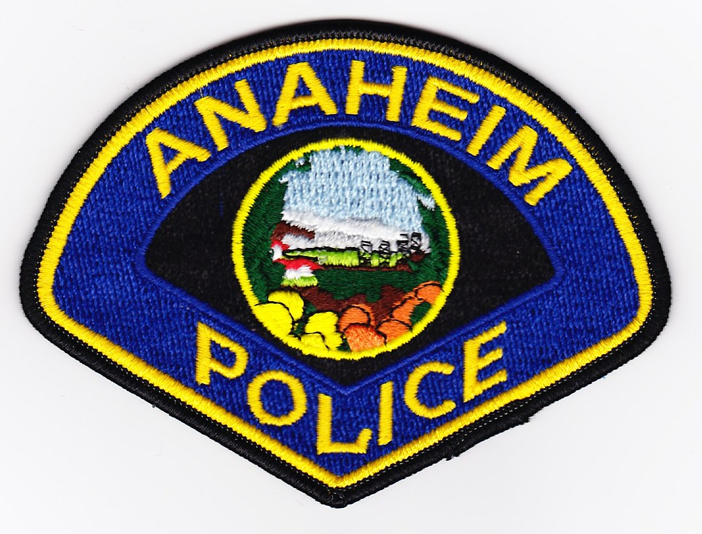 Ca Anaheim Police Department Patch For Waubonsee