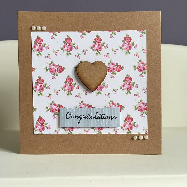 Congratulations heart card by StickerKitten