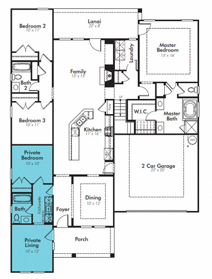 Lennar Nextgen Home Plan National Builder Lennar Homes