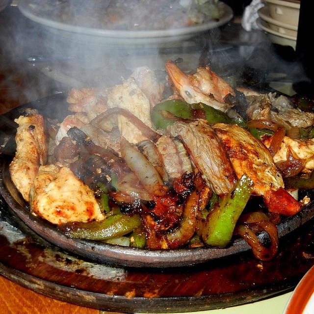 Chicken And Shrimp Fajitas @ Tequila Mexican Restaurant | Flickr ...
