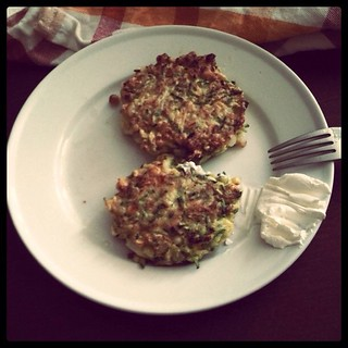 Zucchini Corn Fritters | by whitneyinchicago