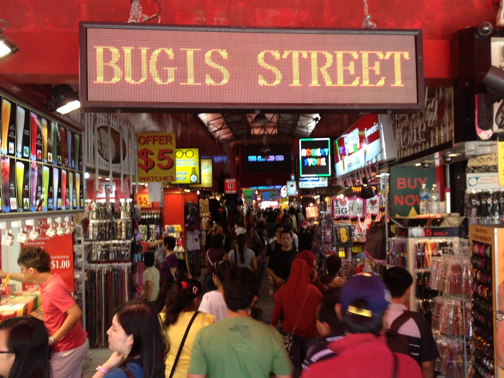 Bugis Street: An old-style market in Singapore