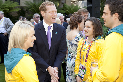 Meeting Australian athletes | by Foreign and Commonwealth Office