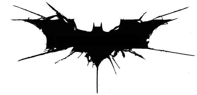 How To Draw The Dark Knight Rises Logo