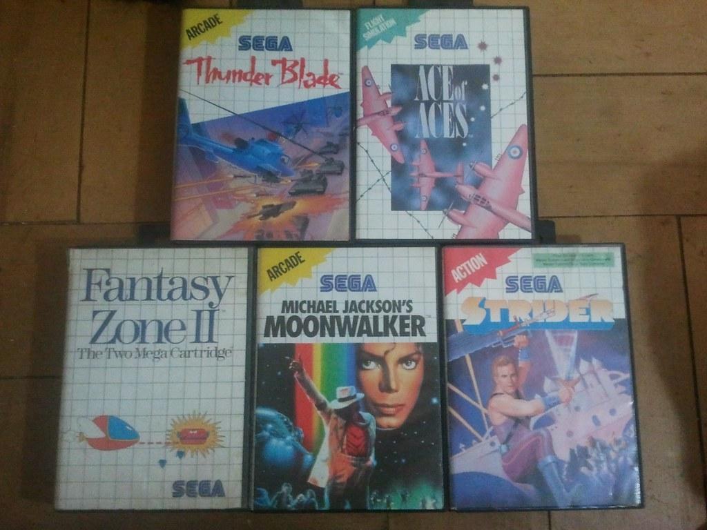 Juegos Sega Master System Vendo 5 Juegos De Sega Master Sy Flickr