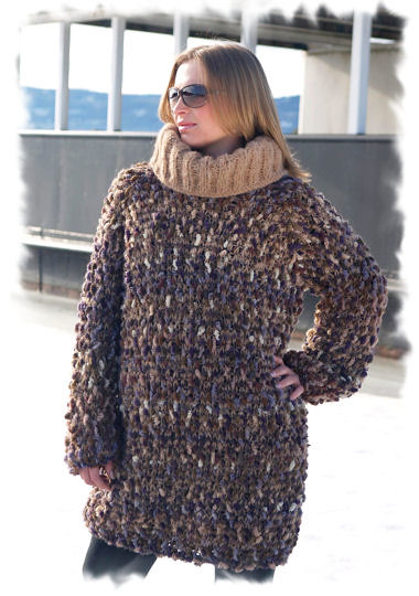 Heavy wool turtleneck sweater - in fashion | Heavy collor ...