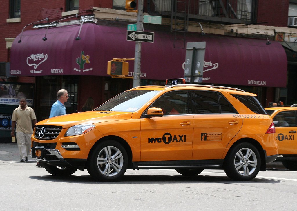 2012 mercedes benz ml350 nyc taxi yep i did a double for Mercedes benz in nyc