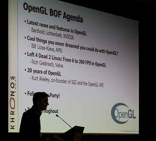 Khronos BOFs at SIGGRAPH 2012 | by Khronos Group