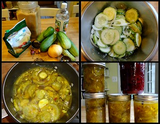 Making Bread & Butter Pickles | by Suburban Hippie...she's one resourceful cookie!