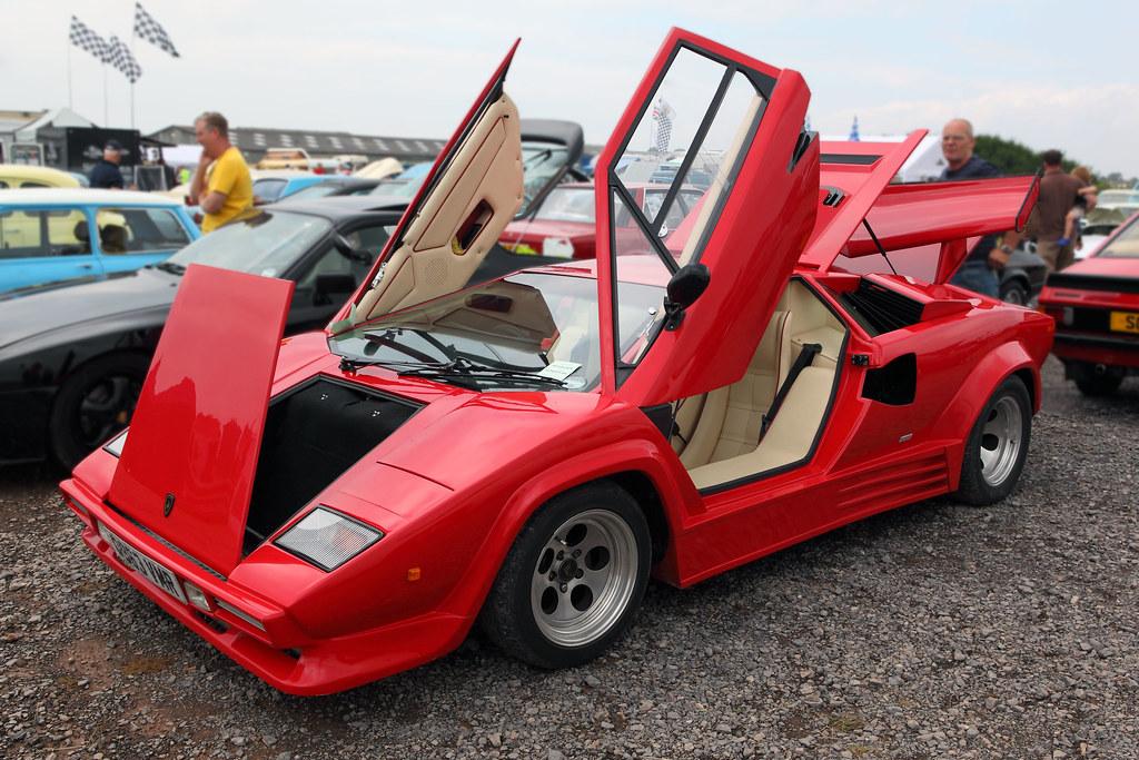 Lamborghini Countach Lp 400s Doors Open Detail C1983