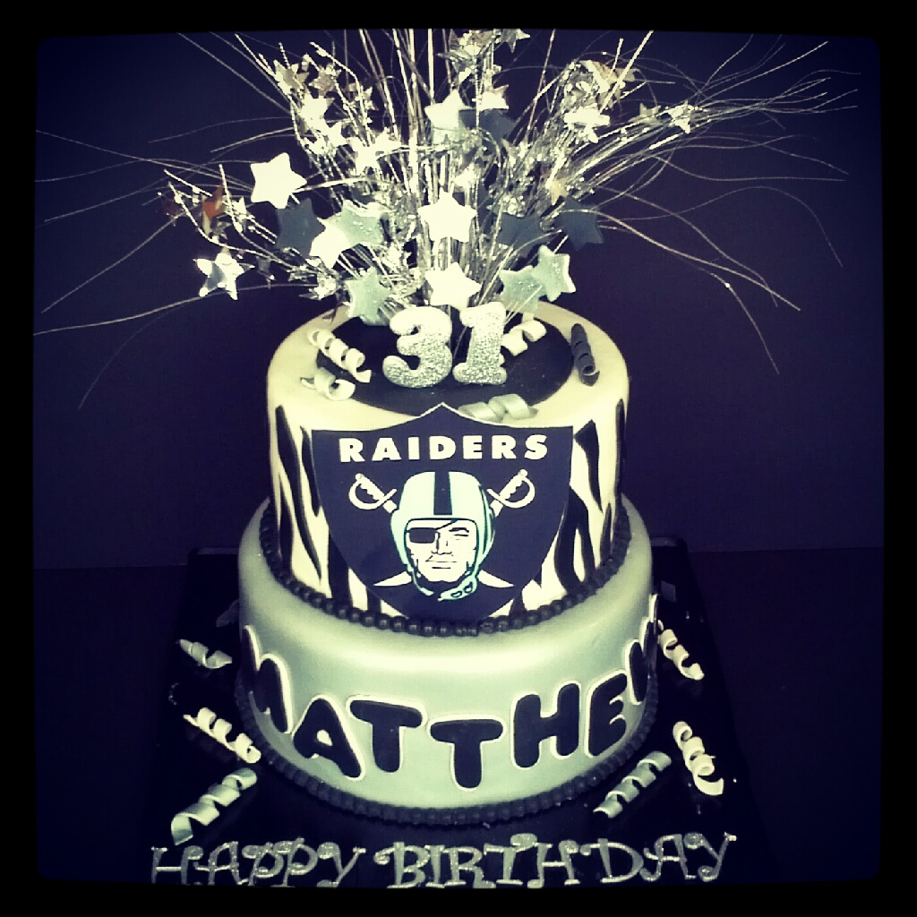 Raider Birthday Raiders Birthday Cake | by