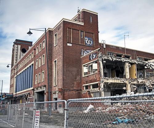 Demolition Of Science : Science alive building demolition of the