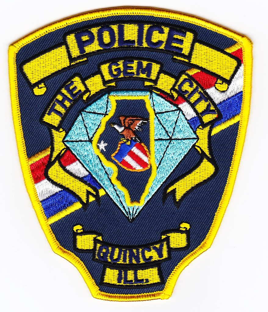 Il Quincy Police Patch For Waubonsee Community College
