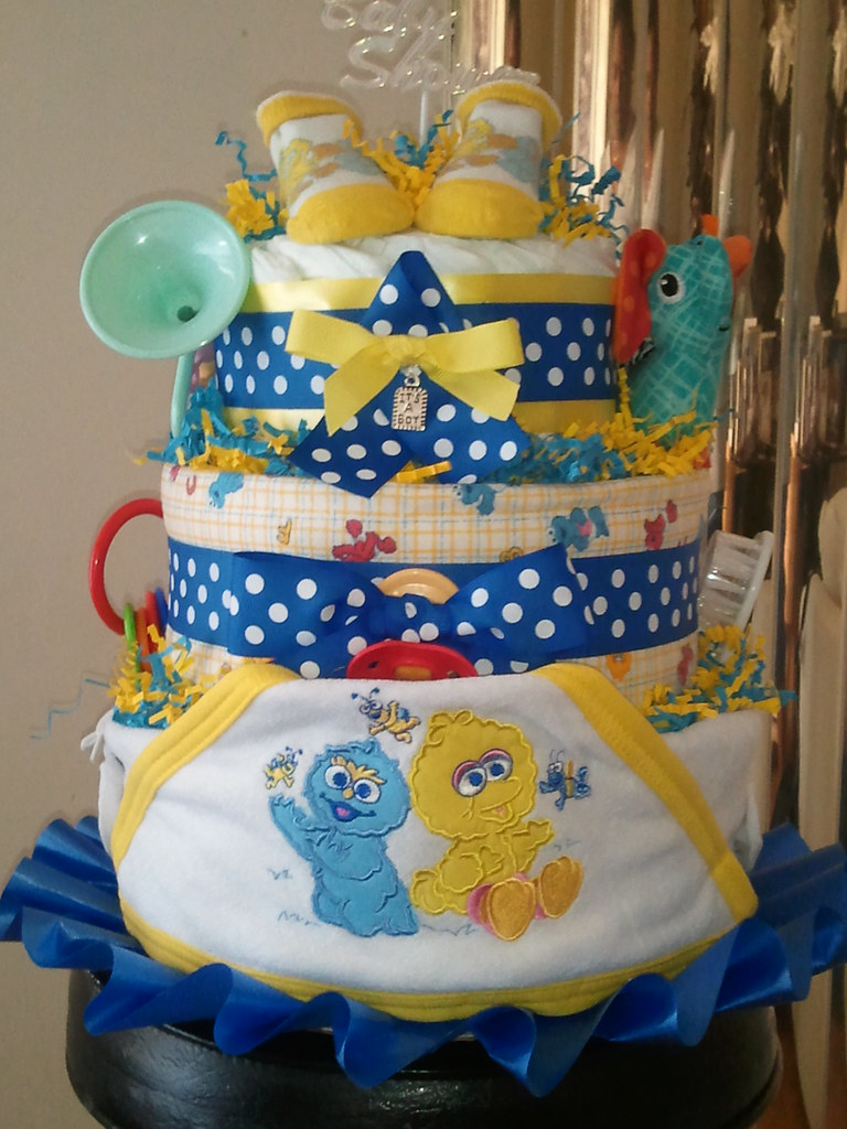Baby Diaper Cakes How To Make