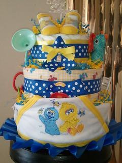 Tier Baby Diaper Cake