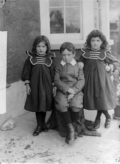 Three Richards children, St. Dogmaels | by LlGC ~ NLW