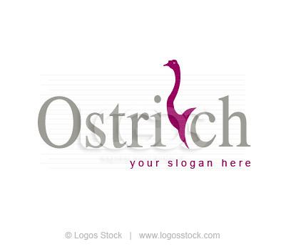 Ostrich Logo Design Ostrich Logo Design Logos Stock