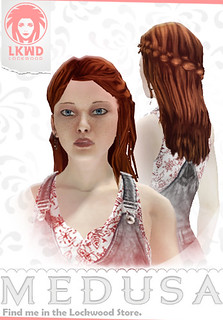 PS Home - Medusa female hippy | by PlayStation.Blog