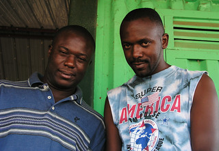 Portrait of two friends in Entebbe | by World Bank Photo Collection
