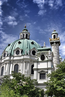 365 days / day 147 - Karlskirche | by Melinda Szente