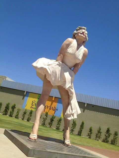 Forever Marilyn sculpture by Seward Johnson