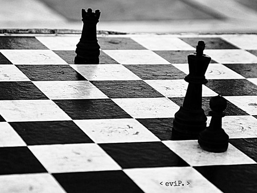 a chess game. | by ~evi's...~