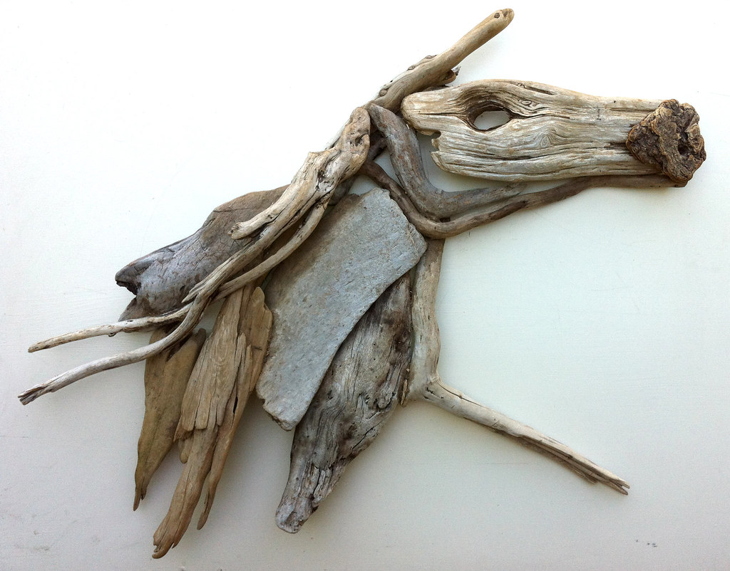 driftwood art the running horse driftwood art handmade