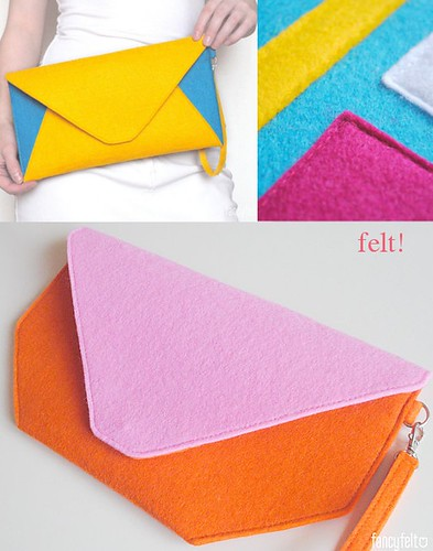 felt purses | by Our Designed Life