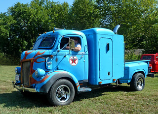 1941 Ford Cab Over Engine (COE) Sleeper Pickup | by J Wells S