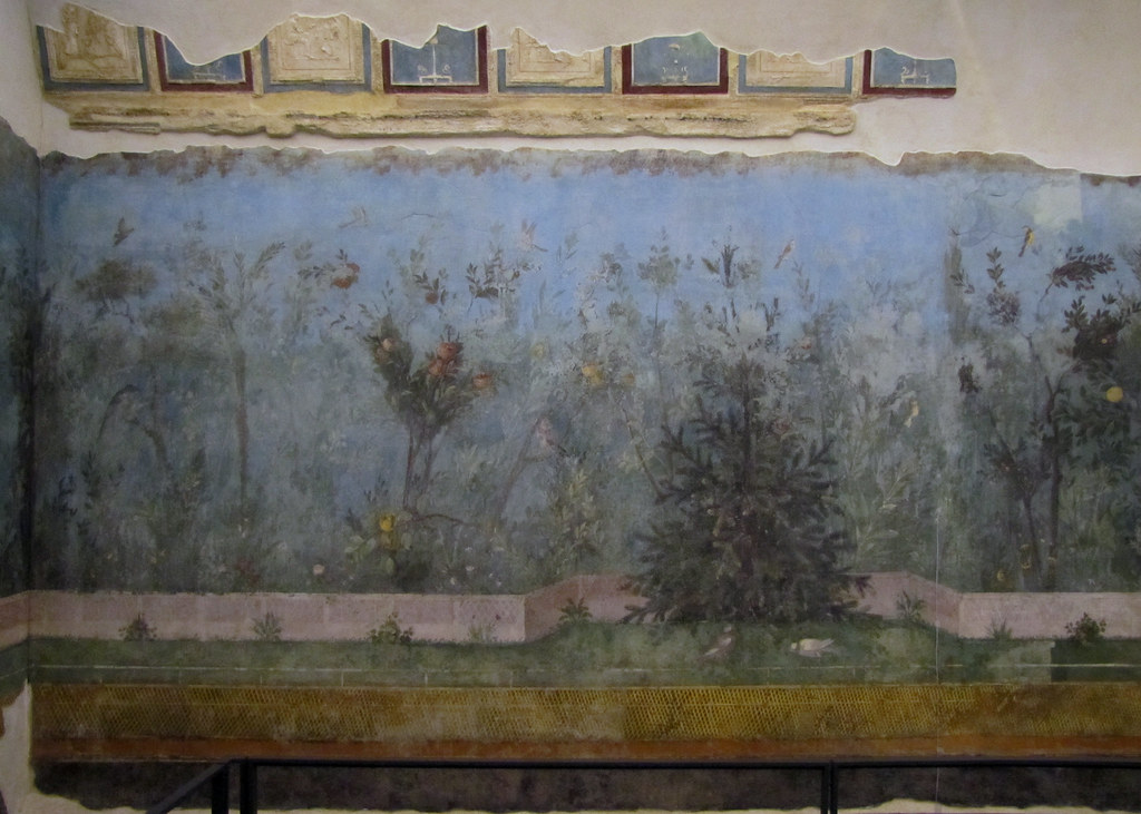 Painted Garden Villa Of Livia With Vaulting Fragments