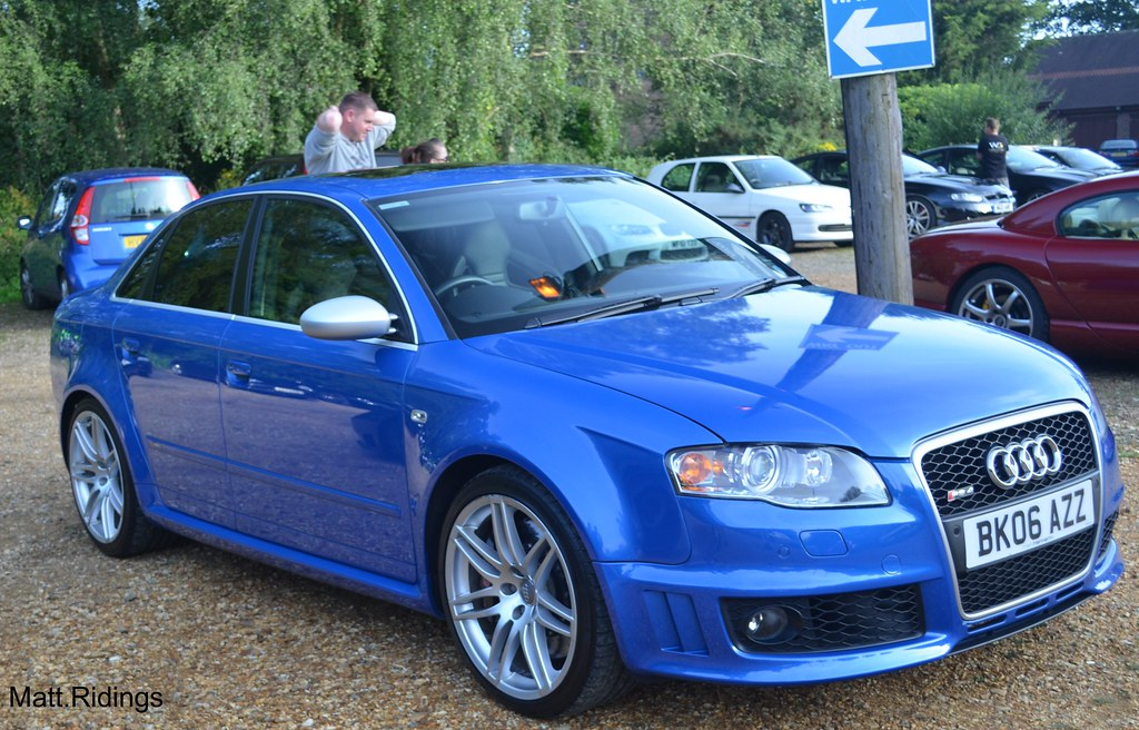 Audi Rs4 B6 Matt Ridings Flickr
