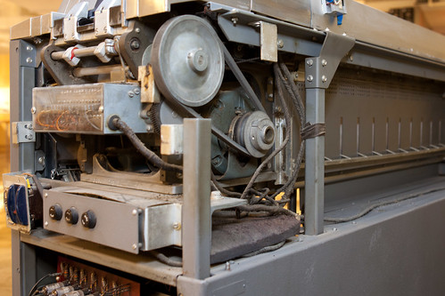 IBM 83 card sorter, drive motor | by hudson