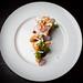Shrimp, crispy masa, sea urchin mousse 08