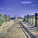 Milford Walkway and Pier at  Walnut Beach -