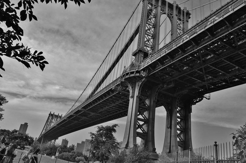Bridge Photography Black And White Bridge in Black-n-white