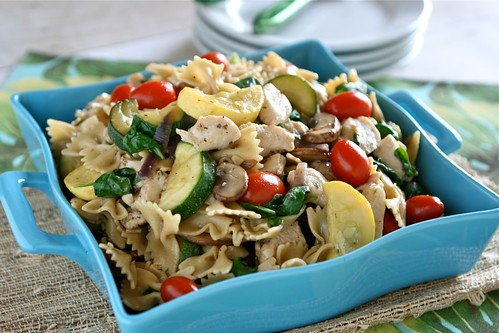 Sauteed Vegetable and Chicken Pasta 002 | by Hungry Housewife