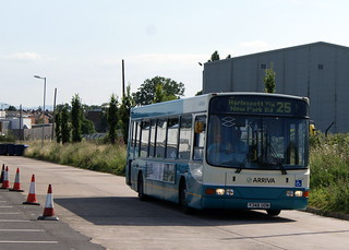 Arriva Midlands North 2708 Y348UON DAF SB120 Wright Cadet | by chrisbell50000