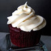 Red Velvet Cupcake with Silky Cream Cheese Frosting