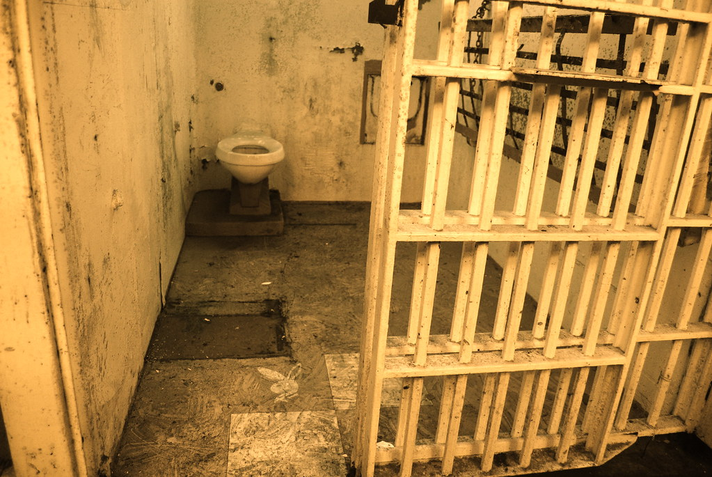 how to draw a prison cell