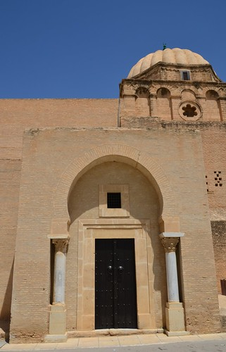 Kairouan, Great Mosque, imam's entrance in qibla wall (1) | by Prof. Mortel