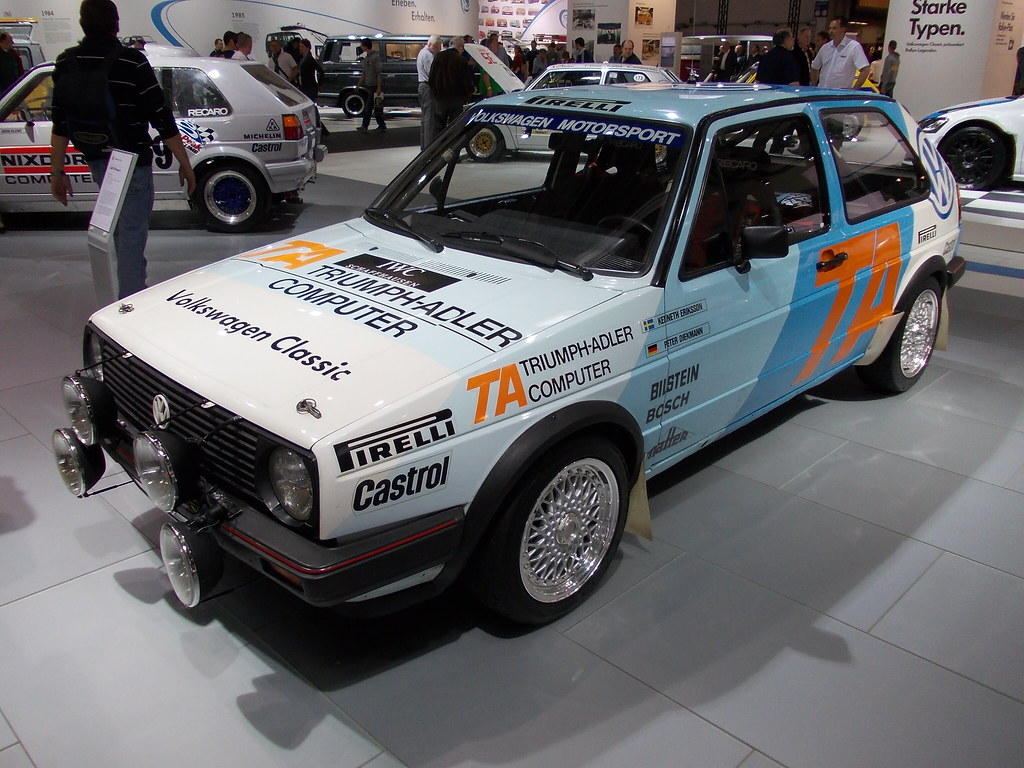 Vw Golf Ii Gti Group A Rallye 1986 1 Techno Classica