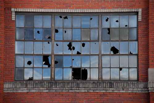 Gates Rubber Factory Window | by fairangels