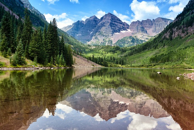 maroon bells lake at - photo #26
