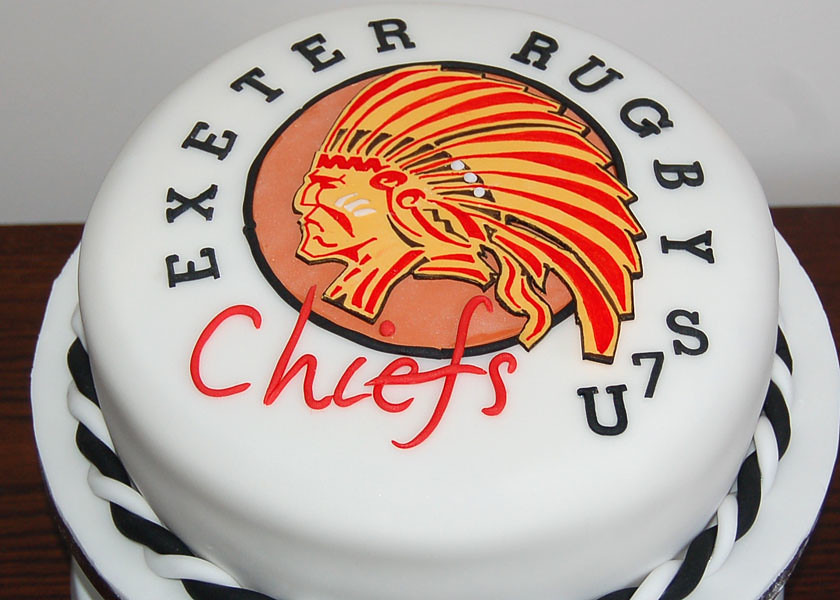 Exeter Chiefs Rugby Cake Sylvania Cakes Exeter Flickr