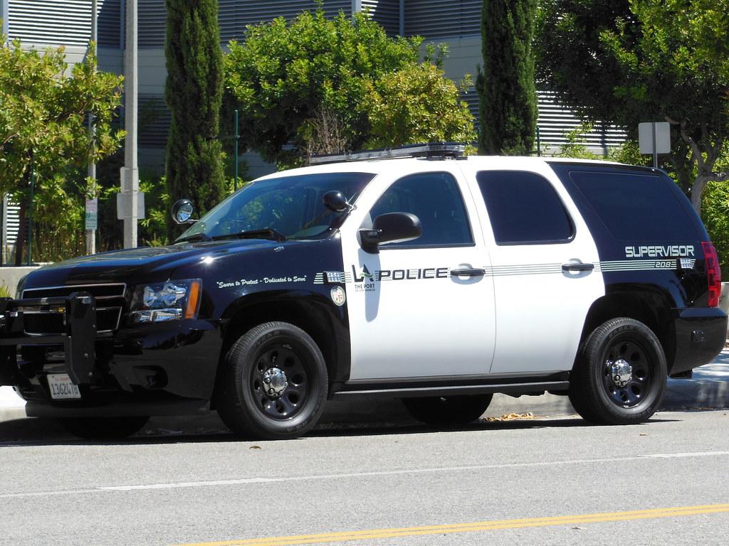 Port of los angeles police mike flickr for La port police