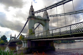 Hammersmith Bridge | by Squirmelia