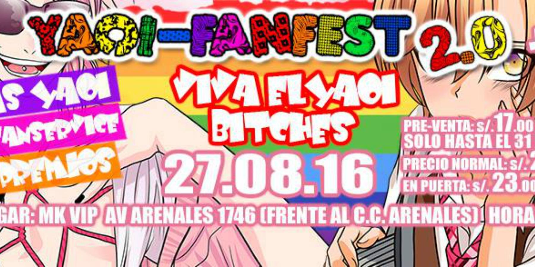 Yaoi Fanfest 2 | MK Break Club