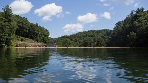 Lake Summit dam
