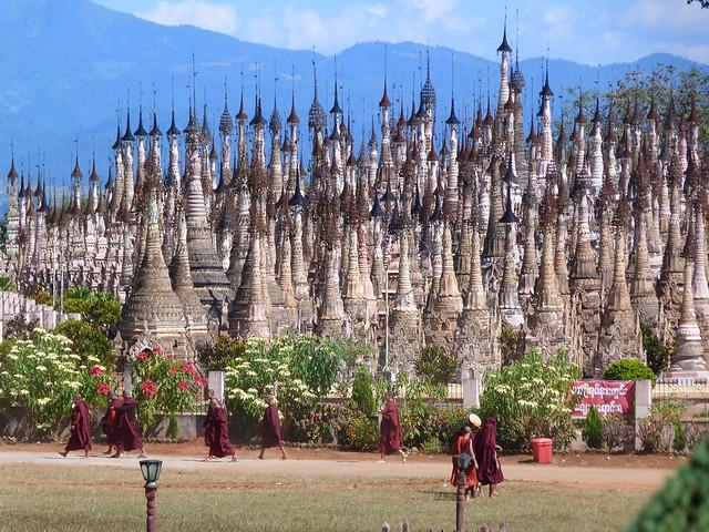 Kakku, el bosque de estupas de Myanmar (territorio Pa-O)